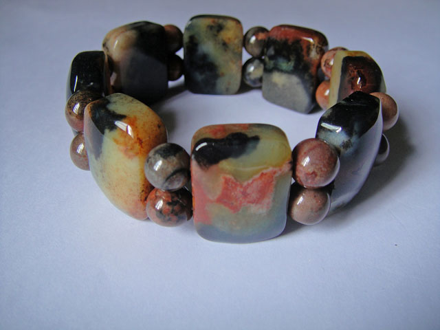 Five Element Stone Bracelet (B) (Lucky Charm Stone) 五行石/五行開運石 *( SOLD )
