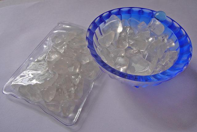 Tumbled Clear Quartz Crystal Chips