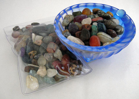 Mixed Tumbled Crystal Chips