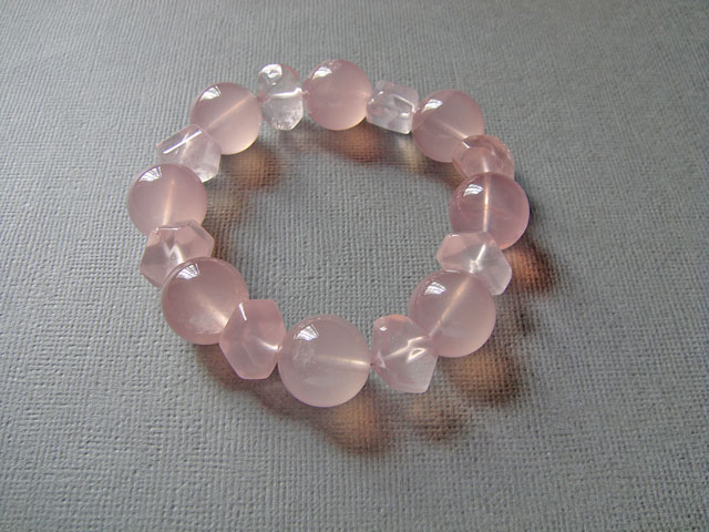 ROSE QUARTZ BRACELET – SOLD