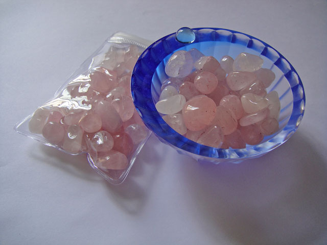 Tumbled Rose Quartz Crystal